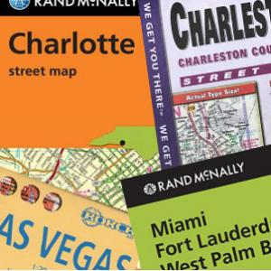 US Folding City Maps