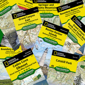 Folding Trail Maps
