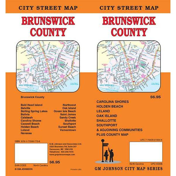 Brunswick County, NC Folding Travel Map on map of atlantic beach nc, map of southport nc, map of new bern nc, map of pine knoll shores nc, map of holden beach nc, map of cape fear nc, map of harkers island nc, map of north carolina nc, map of crystal coast nc, map of swansboro nc, map of boone nc, map of bald head island nc, map of goldsboro nc, map of jacksonville nc, map of carolina beach nc, map of asheville nc, map of shallotte nc, map of charleston nc, map of sunset beach nc, map of raleigh nc,