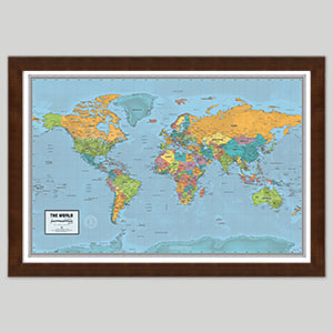 Best Selling World Maps
