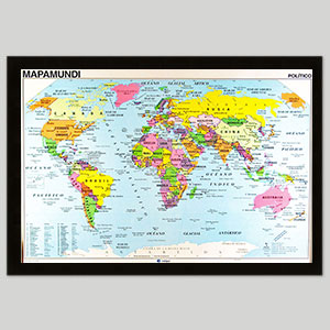 Classroom World Maps