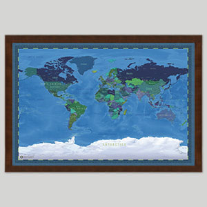 Unique World Maps
